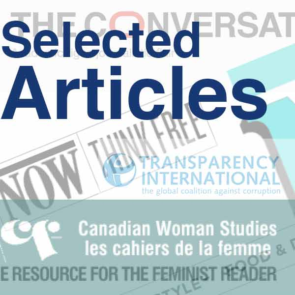 Link to selected articles by Helen Jefferson Lenskyj